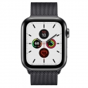Часы Apple Watch Series 5 44mm Stainless Steel Black Milanese l. Black Steel (MWW82/MWWL2)