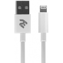 Асс. Кабель 2E Lightning to USB (White) (1m) (2E-CCLAB-WT)