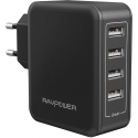 Асс. USB Hub RavPower USB Plug Wall Charger Black (RP-PC026)