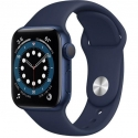 Часы Apple Watch Series 6 GPS 40mm Blue Aluminum Case with Deep Navy Sport B. (MG143)