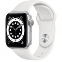 Часы Apple Watch Series 6 GPS 40mm White Aluminum Case with White Sport B. (MG283)