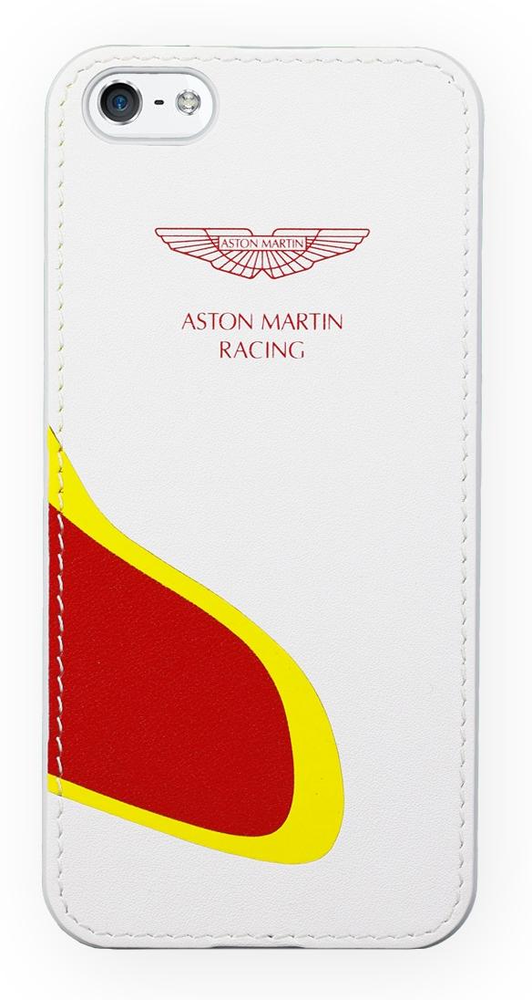 339e625c8c2 Acc. Чехол-накладка для iPhone SE/5S Aston Martin Smart Track (Кожа)  (Белый/Красный) (SMBCIPH5D023)